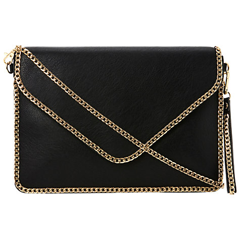 Buy Dune Echainy Chain Trim Clutch Handbag Online at johnlewis.com