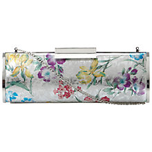 Buy Dune Berri Metallic Floral Clutch Handbag, Multi Online at johnlewis.com