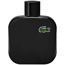 Buy Lacoste Noir Eau de Toilette, 100ml Online at johnlewis.com