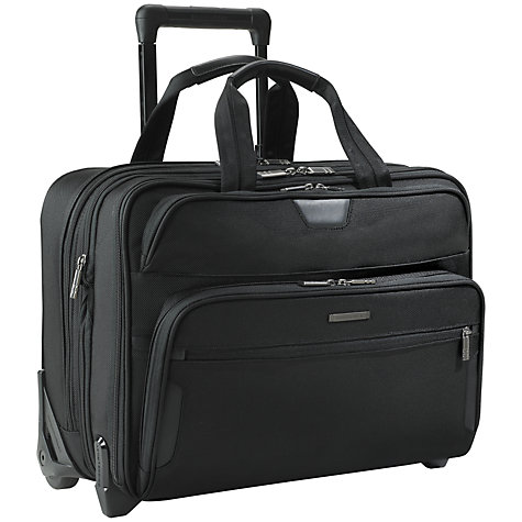 "Buy Briggs & Riley KR350X-4 Business 17"" Laptop 2-Wheel Mobile Office Online at johnlewis.com"