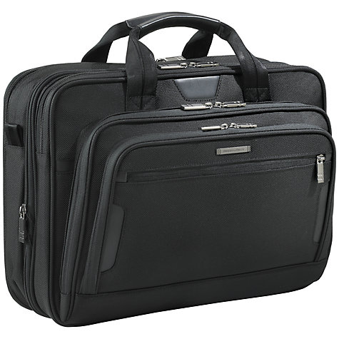 "Buy Briggs & Riley KB207X-4 Business 15.6"" Laptop Briefcase Online at johnlewis.com"