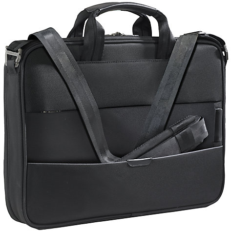 "Buy Briggs & Riley KB307X-4 Business 17"" Laptop Briefcase Online at johnlewis.com"