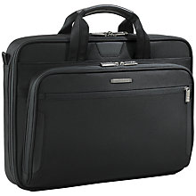 "Buy Briggs & Riley KB306-4 Business 17"" Laptop Briefcase Online at johnlewis.com"