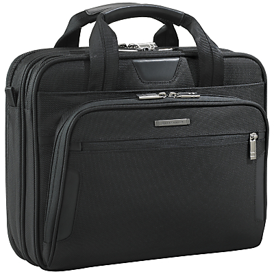 Briggs & Riley KB1004 Business 13 Laptop Briefcase Black