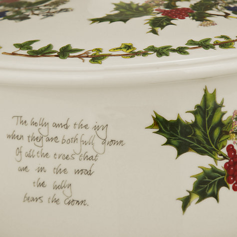 Buy Portmeirion The Holly & The Ivy Casserole Dish Online at johnlewis.com