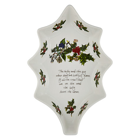 Buy Portmeirion The Holly & The Ivy Dish Online at johnlewis.com