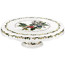 Buy Portmeirion The Holly & The Ivy Footed Cake Stand Online at johnlewis.com