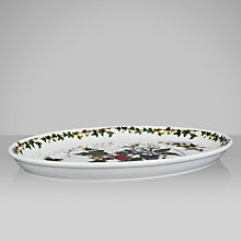 Buy Portmeirion The Holly & The Ivy Oval Platter Online at johnlewis.com