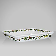 Buy Portmeirion The Holly & The Ivy Lasagne Dish Online at johnlewis.com