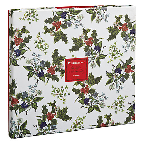 Buy Portmeirion The Holly & The Ivy Star Dish Online at johnlewis.com