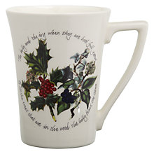 Buy Portmeirion The Holly & The Ivy Mandarin Mug Online at johnlewis.com