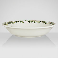 Buy Portmeirion The Holly & The Ivy Pasta Bowl Online at johnlewis.com