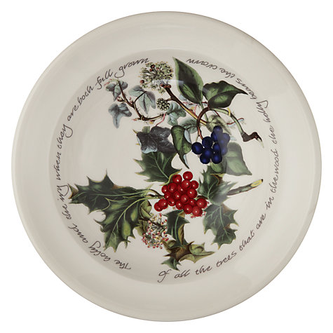 Buy Portmeirion The Holly & The Ivy Oatmeal Bowl Online at johnlewis.com