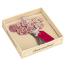 Buy Choc on Choc Peronalised Bunch of Flowers Chocolate Bar, 100g Online at johnlewis.com