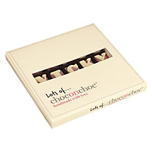 Buy Choc on Choc Personalised 25 Block White Chocolate Bar, 275g Online at johnlewis.com