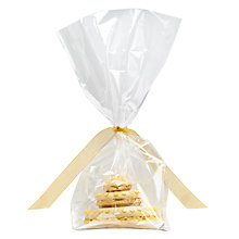 Buy Image on Food Personalised Macaroon Cake, Pack of 50, Yellow Online at johnlewis.com