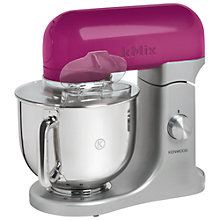 Buy Kenwood kMix KMX99 Stand Mixer, Pink with FREE Kettle and Toaster Online at johnlewis.com