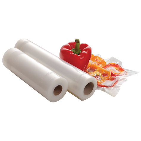 Buy Food Saver Rolls 28cm, 2 Pack Online at johnlewis.com