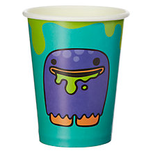 Buy Ginger Ray Monster Madness Paper Cups, Pack of 8 Online at johnlewis.com