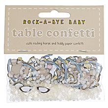 Buy Ginger Ray Rock A Bye Baby Table Confetti Online at johnlewis.com