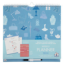 Buy Organised Mum 16-month Weekly Planner Online at johnlewis.com