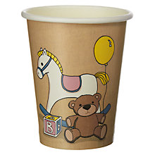 Buy Ginger Ray Rock A Bye Baby Paper Cups, Pack of 8 Online at johnlewis.com