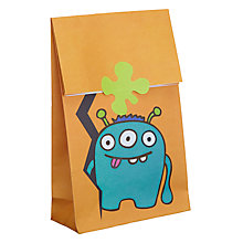 Buy Ginger Ray Monster Madness Party Bags, Pack of 12 Online at johnlewis.com