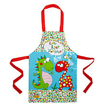 Buy Rachel Ellen Dino Children's Apron, Multi Online at johnlewis.com