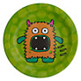 Ginger Ray Monster Madness Paper Plates, Pack of 8