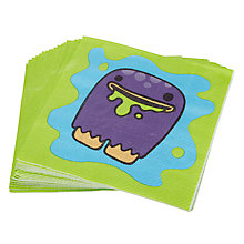 Buy Monster Madness Disposable Paper Napkins, Pack of 20 Online at johnlewis.com