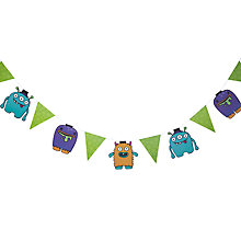Buy Ginger Ray Monster Madness Bunting, L3.5m Online at johnlewis.com