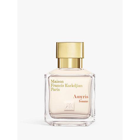 Buy maison francis kurkdjian amyris pour femme eau de for Amyris homme maison francis kurkdjian