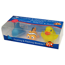 Buy Konfidence Blinkies Swim Toys, Pack of 3 Online at johnlewis.com
