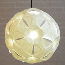 Buy Luminosity Easy-to-fit Rosa Round Ceiling Shade, Dia.45cm Online at johnlewis.com