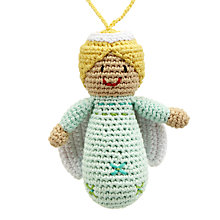 Buy Best Years Crochet Angel Tree Decoration Online at johnlewis.com