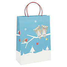 Buy John Lewis Origami Owl Gift Bag, Large Online at johnlewis.com