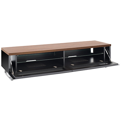 "Buy Techlink PM160W Panorama TV Stand for TVs up to 65"", Gloss Black Online at johnlewis.com"