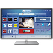 "Buy Toshiba 32L6353DB LED HD 1080p Smart TV, WiDi, 32"" with Freeview HD Online at johnlewis.com"