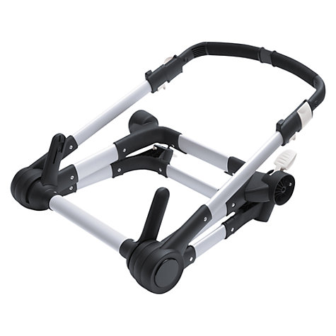 Buy Bugaboo Buffalo Pushchair Base, Black/Silver Online at johnlewis.com