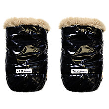 Buy 7 A.M. Enfant Warmmuffs, Black With Faux Fur Lining Online at johnlewis.com