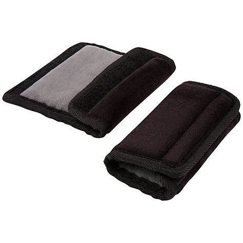 Buy Diono Soft Car Seat Strap Wraps, Black Online at johnlewis.com