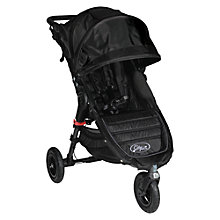 Buy Baby Jogger City Mini GT Pushchair, Black/Black Online at johnlewis.com