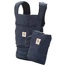 Buy Ergobaby Stowaway Baby Carrier, Navy Online at johnlewis.com