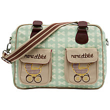 Buy Pink Lining Mama et Bebe Changing Bag, Peppermint Online at johnlewis.com