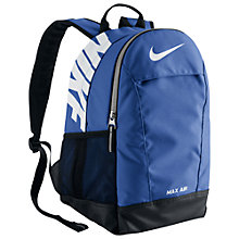 Buy Nike Youth's Max Air Backpack Online at johnlewis.com