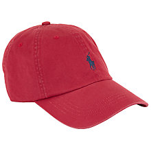 Buy Polo Ralph Lauren Baseball Cap Online at johnlewis.com