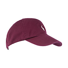 Buy Polo Ralph Lauren Baseball Cap, Burgundy Online at johnlewis.com