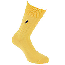 Buy Polo Ralph Lauren Classic Cotton Socks, Yellow Online at johnlewis.com