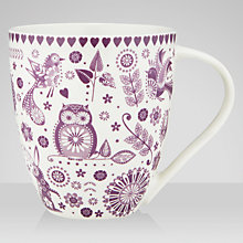 Buy Peony Purple Mug Online at johnlewis.com