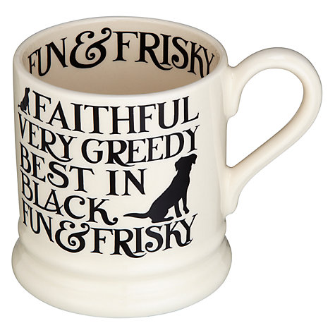 Buy Emma Bridgewater Black Toast Labrador Mug Online at johnlewis.com